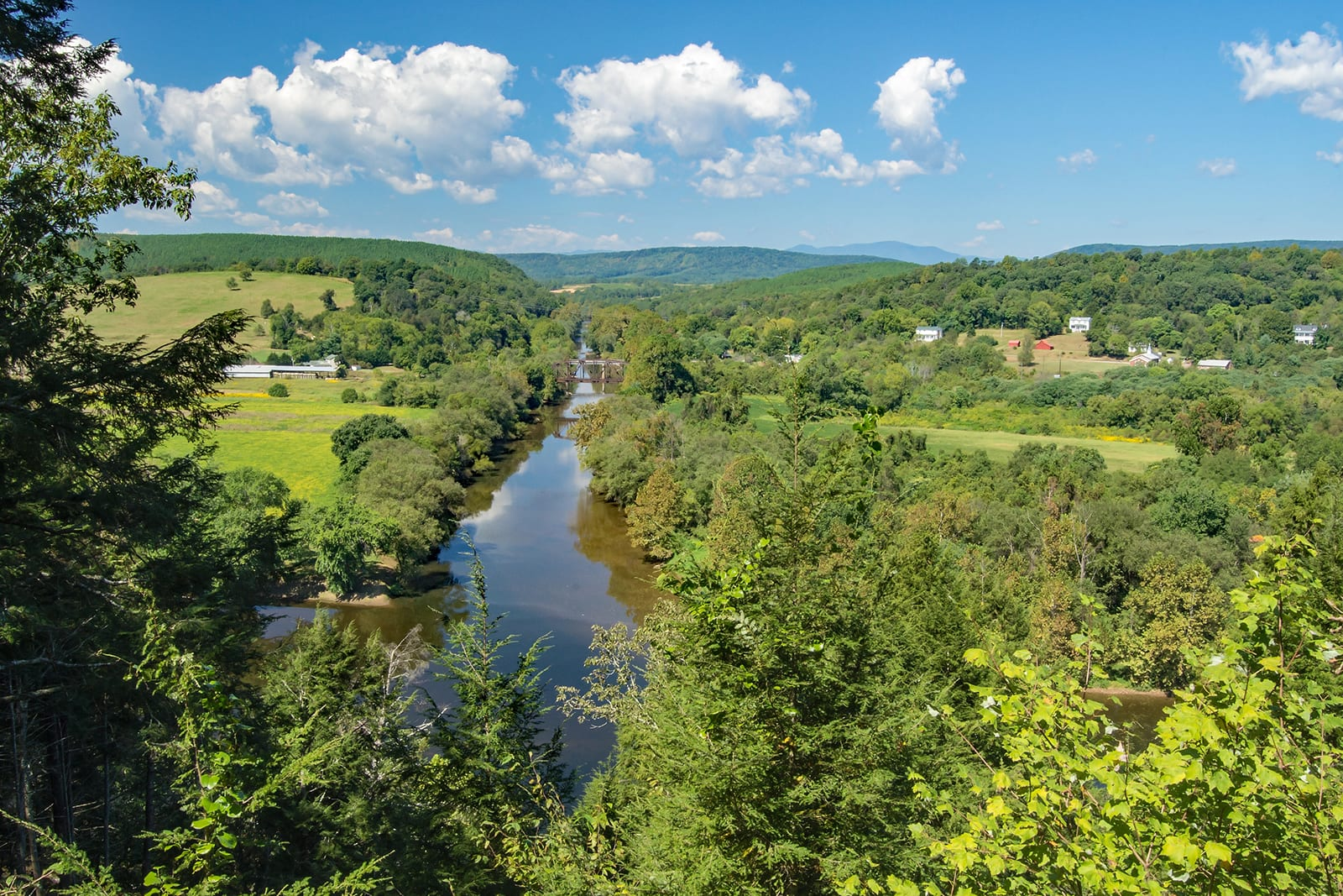 Visit buckingham county and the confluence of the tye for Tye river cabin co